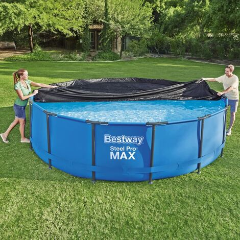 Bestway Cubierta para piscina Flowclear 457 cm