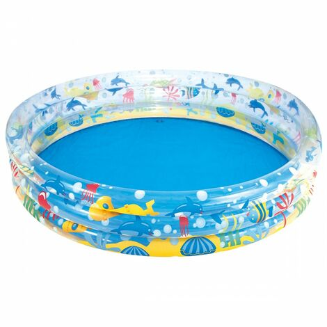 Bestway Deep Dive Paddling Pool (One Size) (Multicoloured)