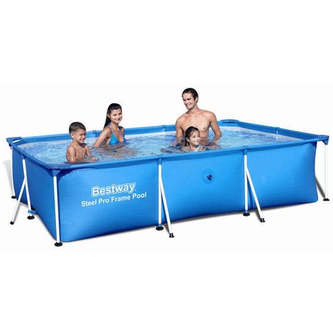 Bestway Deluxe Splash Frame Pool 300x201x66cm 56404