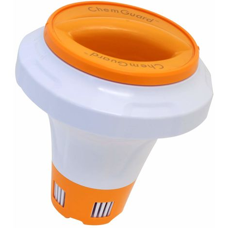 Bestway Dosierschwimmer Flow Clear mit Chemguard orange weiß