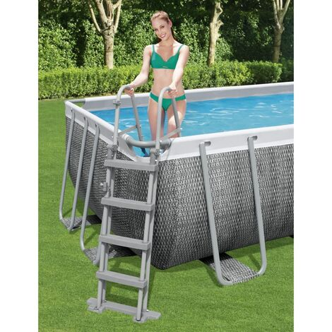 Bestway Échelle de piscine à 4 marches Flowclear 122 cm