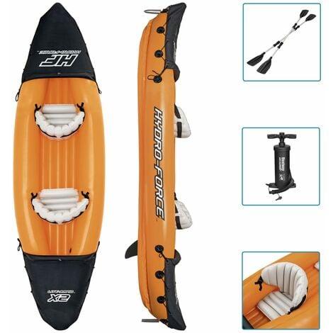 Bestway Ensemble de kayak gonflable Hydro-Force Lite-Rapid x2