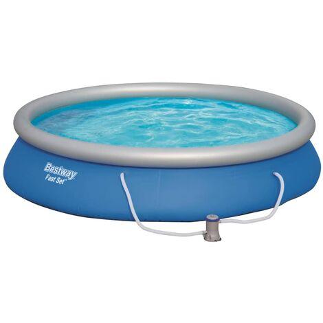 Bestway Ensemble de piscine Fast Set 457 x 84 cm 57313