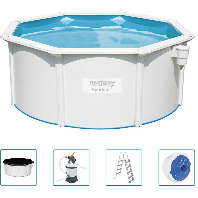 Bestway Ensemble de piscine Hydrium 300x120 cm