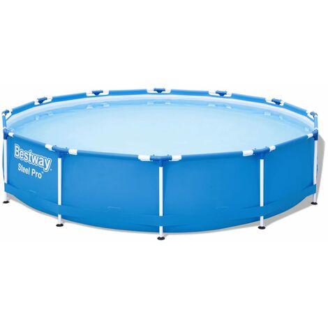 Bestway Ensemble de piscine Steel Pro Cadre 366x76 cm