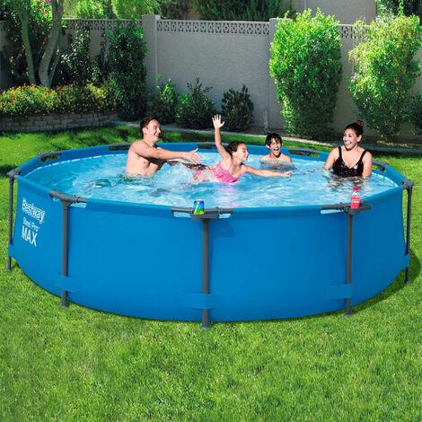 Bestway Ensemble de piscine Steel Pro MAX Cadre 305 x 76 cm