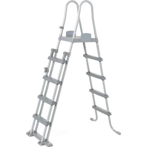 Bestway Escalera de piscina de seguridad 4 escalones Flowclear 132 cm