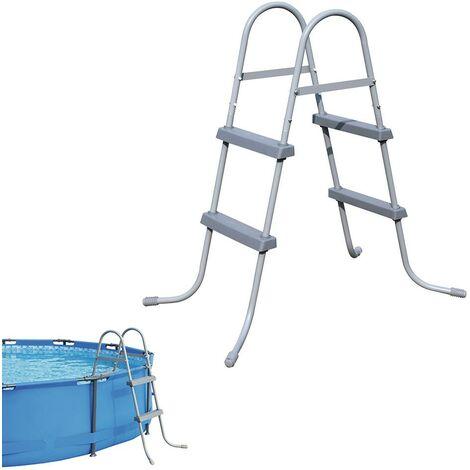 Bestway escalera para piscina escalera de seguridad piscina elevada 84/107/122cm