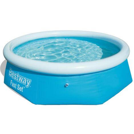 "main image of ""Bestway Fast Set Swimming Pool 244x65 cm 57265 - Blue"""