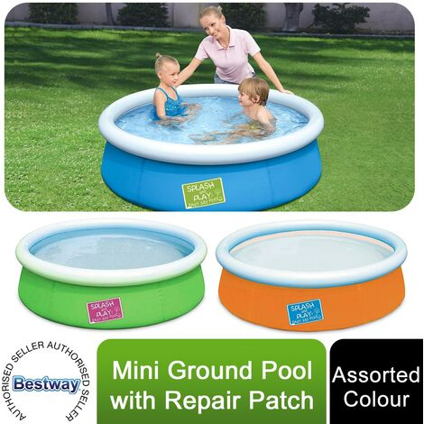 """main image of """"Bestway Fast Set Swimming Pool, 6x20 for Kids and Adults, Assorted Colours"""""""