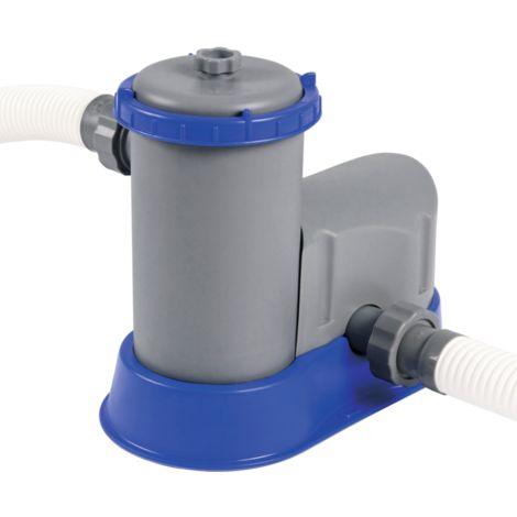 Bestway Filterpumpe FLOWCLEAR, 5.678l/h, Wasserfilter, grau/blau