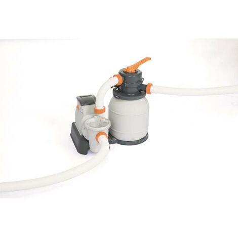 BESTWAY Filtre a sable 5.678 m³/H + pré-filtre - Blanc