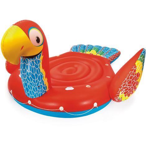 Bestway Float'N Fashion Riesen Papagei-Schwimminsel 500 x 327 cm