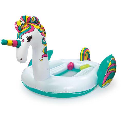 Bestway Flotteur de piscine Giant Unicorn Island