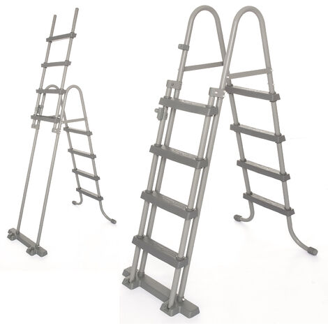 "Bestway Flowclear, 42""/1.07m Safety Metal Above Ground Pool Ladder, 1pk"