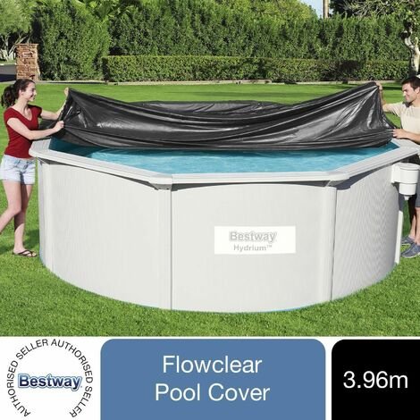 Bestway Flowclear Above Ground 13ft Steel Frame Swimming Pool Cover