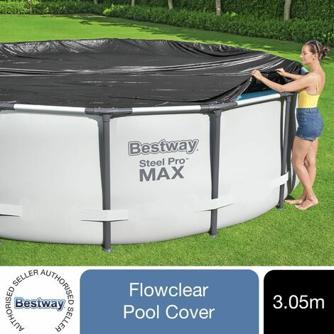 Bestway Flowclear Above Ground 15ft Steel Frame Swimming Pool Cover