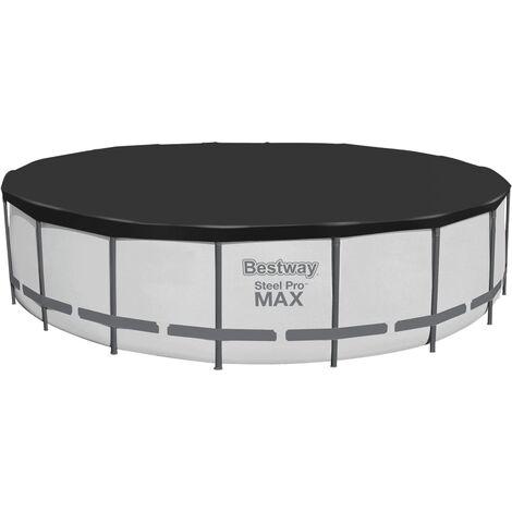 Bestway Flowclear Fast Set Pool Cover 555 cm - Black