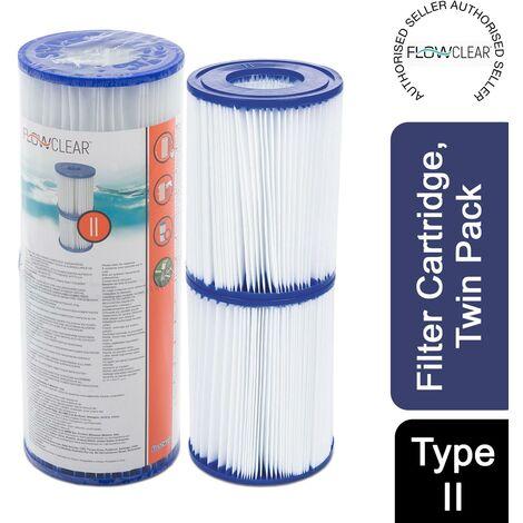 Bestway Flowclear Type (II) Filter Cartridge For Above Ground Pump