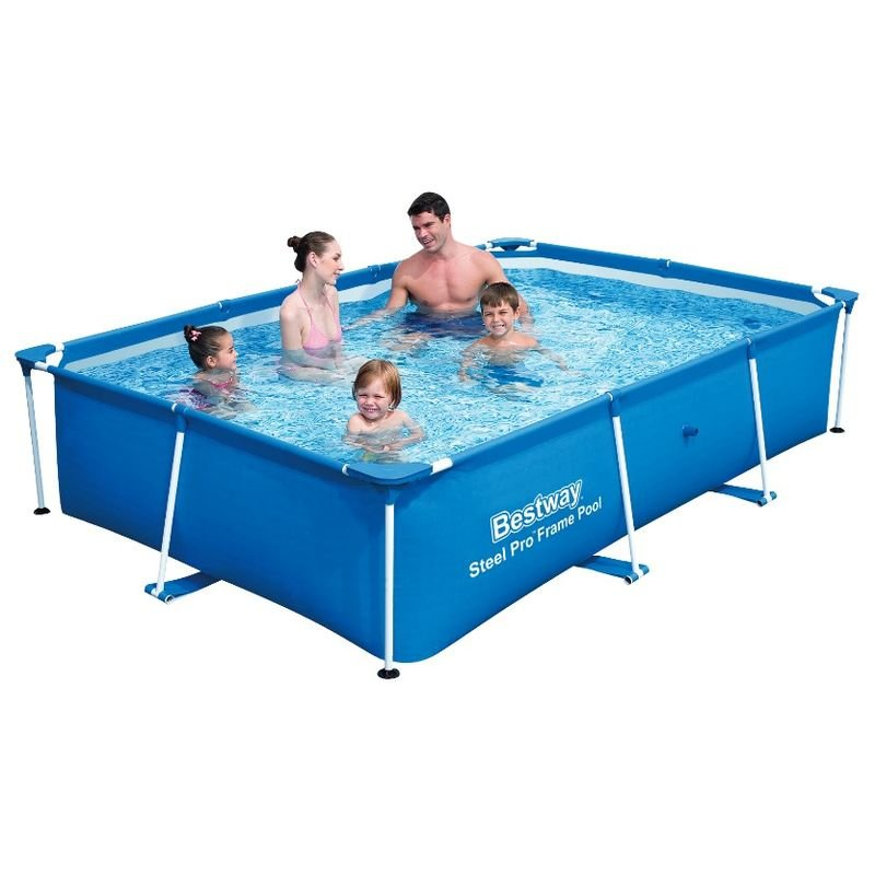 Familien Pool Planschbecken Kinderpool Swimming Pool 170 x 170 x 40 cm