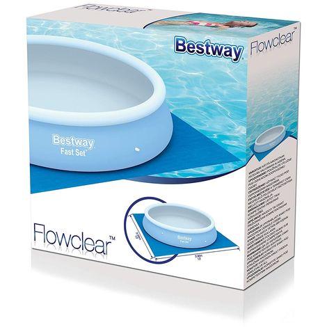 Bestway Ground Cloth Swimming Pool Floor Protector - 13' x 13'