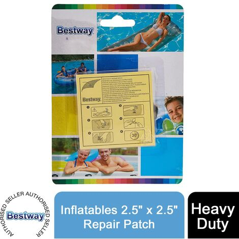 """main image of """"Bestway Heavy Duty Inflatables 2.5"""" x 2.5""""/6.5cm x 6.5cm Repair Patch"""""""