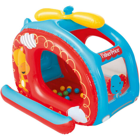 Bestway Helicopter Ball Pit Fisher Price 137x112x97 cm 93502