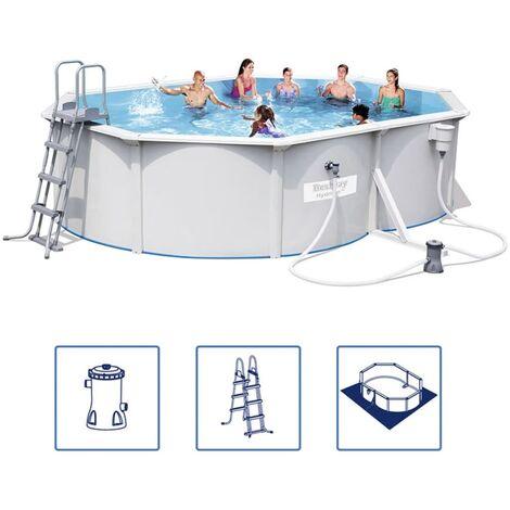 Bestway Hydrium Schwimmbecken-Set Stahlrahmen 500x360x120 cm 56583