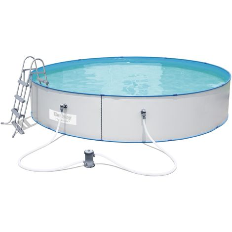 Bestway Hydrium Splasher Stahlwand Pool Set 460 x 90 cm