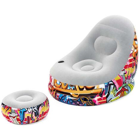 Bestway Lounge Chair Cruiser Graffiti - Multicolour