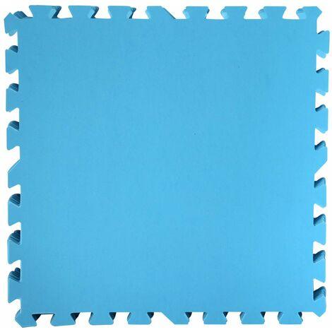"""main image of """"Bestway PE Poolmatten Schutzboden 9er Pack 50 x 50 cm Blau"""""""