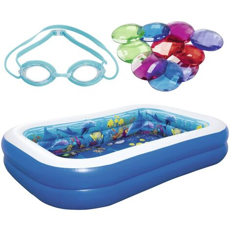 c92aa68cb2 Bestway Piscina hinchable Undersea Adventure 54177 -