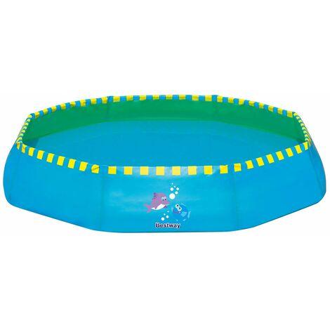 Bestway Piscine enfant à instal.rapide de 99cx 99 x 20 Bleue