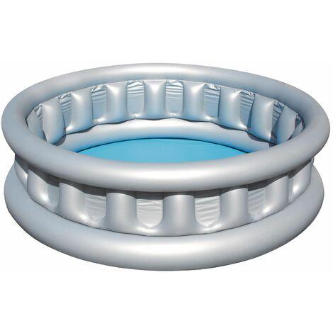 Bestway Piscine gonflable pataugeoire ronde Soucoupe Volante diamètre 152 cm x 43 cm.
