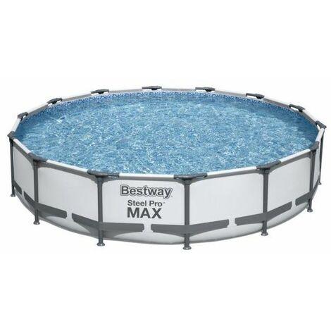 Bestway Piscine hors-sol acier 305x76cm + pompe filtre cartouche 56408
