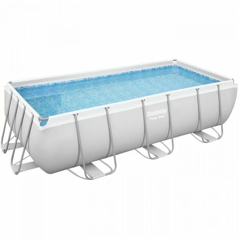 BESTWAY Piscine hors sol Power Steel - 404 x 201 x 100 cm