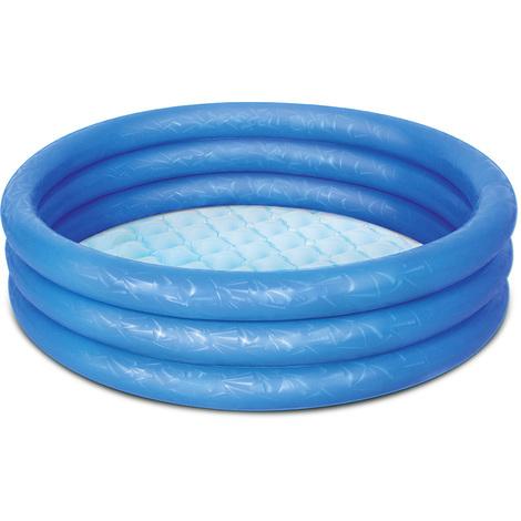 BESTWAY - Piscine pataugeoire bassin gonflable enfant - Ø 102 cm - Bleu