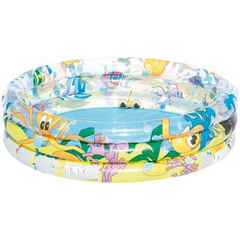 Bestway piscine pour enfants gonflable ronde d.102 x H25 cm 110 L en PVC 51008