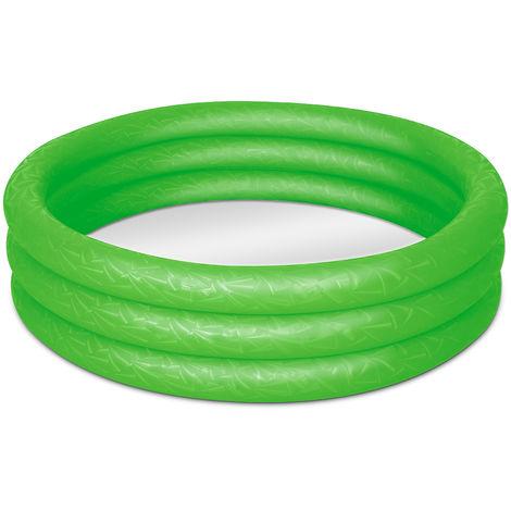 Bestway Play-Pool - Ø 122 cm - Paddling Fun in Red - Green or Blue Green