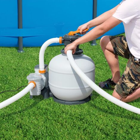 Bestway Pompe de filtration à sable Flowclear 8327 L/h