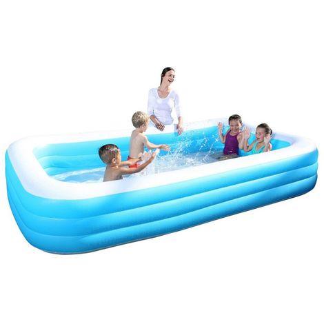 Bestway Pool 54009 Kinderpool Planschbecken Schwimmbecken 305x183x56 #3546