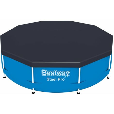 Bestway Pool Cover Flowclear 305 cm - Grey