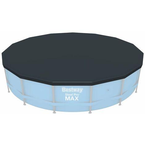 """main image of """"Bestway Pool Cover Flowclear 457 cm - Grey"""""""