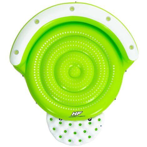 Bestway Pool Float Hydro-Force 275x255x65 cm Green