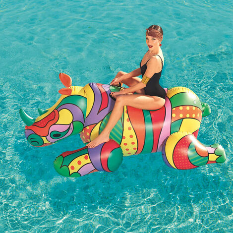 Bestway Pool Float POP Rhino 41116 - Multicolour