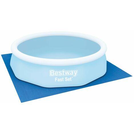 Bestway Pool Ground Cloth Flowclear 335x335 cm - Blue