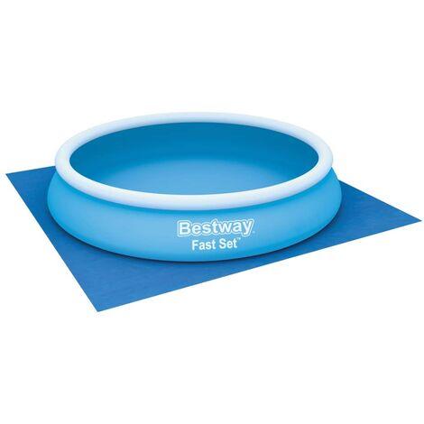 Bestway Pool Ground Cloth Flowclear 396x396 cm - Blue