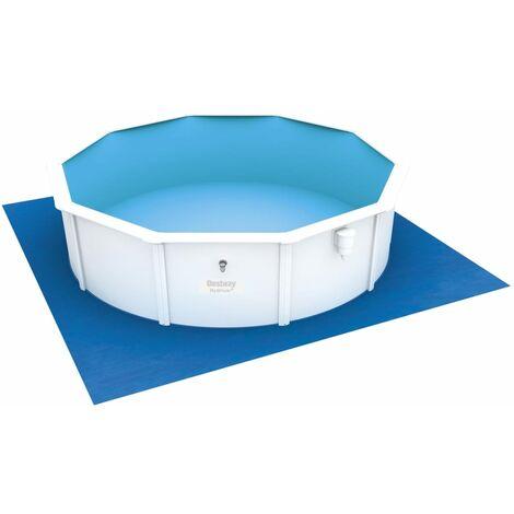 "main image of ""Bestway Pool Ground Cloth Flowclear 488x488 cm - Blue"""