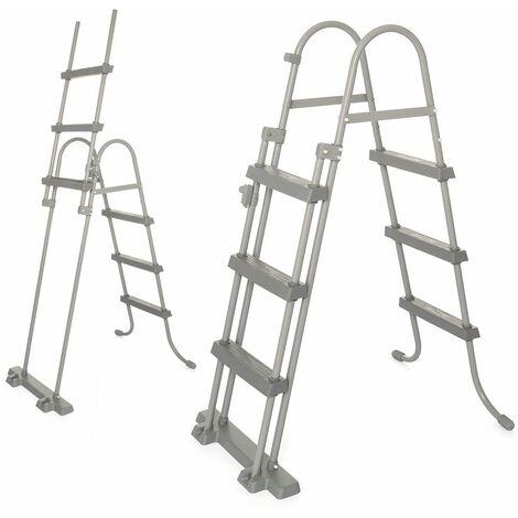 Bestway Poolleiter Sicherheitsleitern Pool Einstieg Leitern Treppe 84/107/122 cm