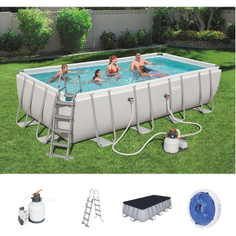 Bestway Power Steel Frame Pool Set 549 x 274 56465
